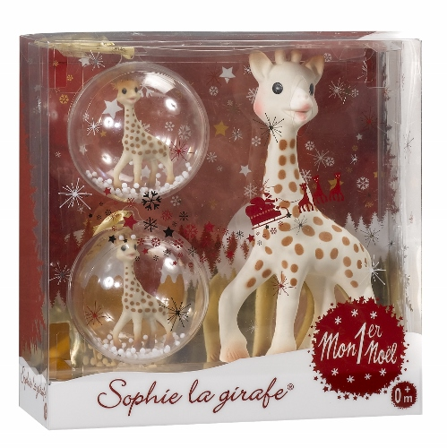 Gift Ideas For Babys First Christmas Australia : My first sophie la girafe christmas set