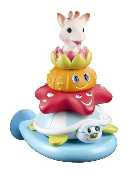 Sophie la girafe Splash and Surf Bath Pyramid